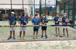 Derrota del Club Padel Vilanova Federado Kids por 1-2 contra el Padel Indoor Mataró