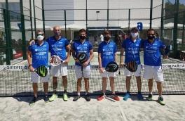 Club Padel Vilanova Padelcat Masculino A, Campeón 1ª Fase Liga Padelcat