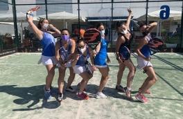 Victoria del Club Padel Vilanova Padelcat Femenino A por 2-1 frente al Sports La Pava