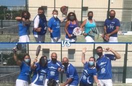 Derbi entre el Club Padel Vilanova Padelcat Mixto 4ªB y el Club Padel Vilanova Padelcat Mixto 4ª C