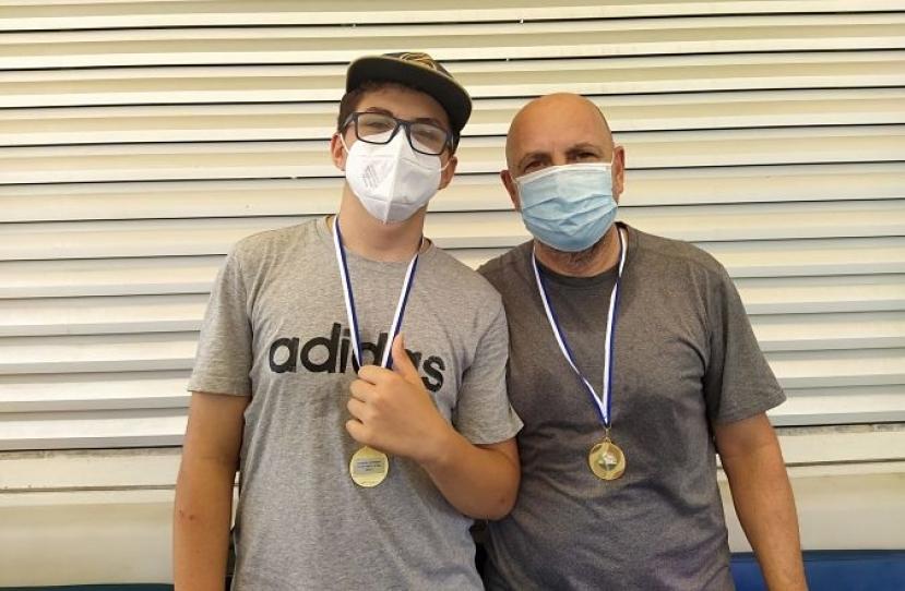 Marc Levy y Pere Levy, Campeones Consolación Torneo Padres e Hijos Telepizza Nivel 2