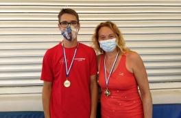 Pol Farras y Annabel Casas, Campeones Consolación Torneo Padres e Hijos Telepizza Nivel 4