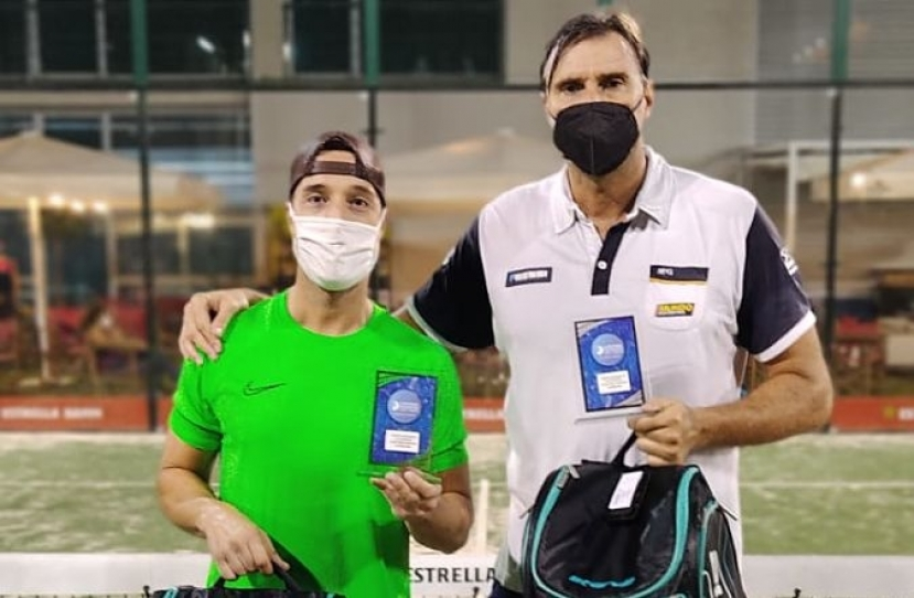 Marc Gonzalez y Miguel Anton, Campeones Torneo Masculino 3ª Categoría