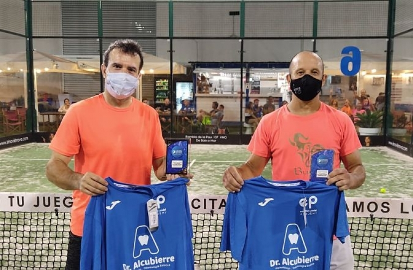 Abel Mauri y Cesar Blasco, Campeones Consolación Torneo Masculino 2ª Categoría
