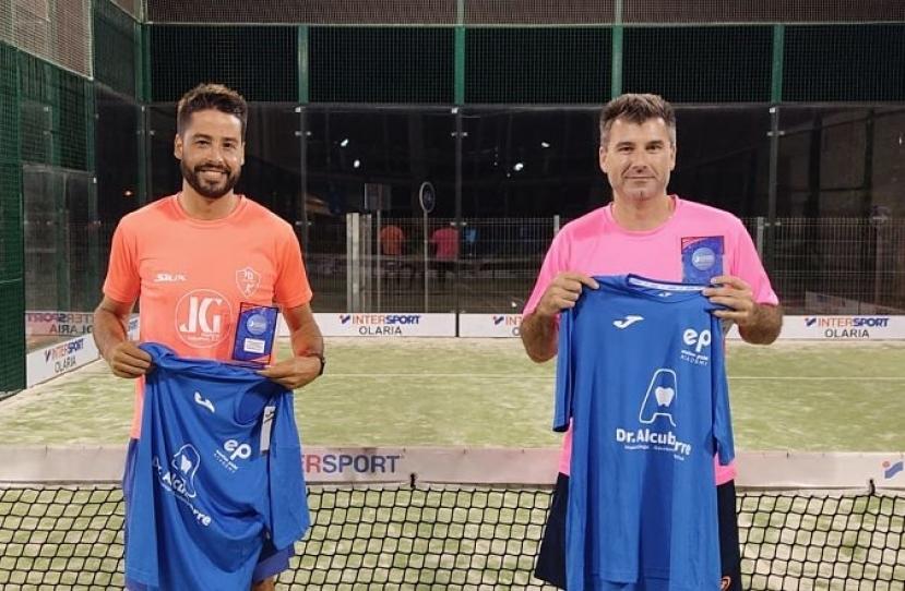 Manuel Periset y Abraham Torrecillas, Campeones Consolación Torneo Masculino 3ª Categoría