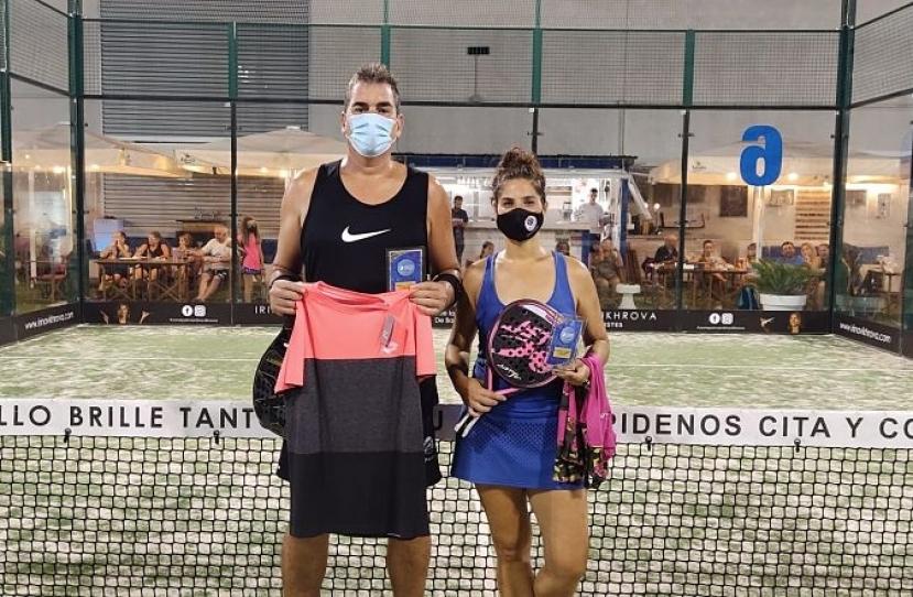 Jordi Xambó y Jessica Regadera, Campeones Torneo Mixto 3ª Categoría
