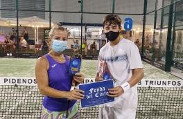 Eric Bola y Margarita Sanchez, Campeones Consolación Torneo Mixto 3ª Categoría