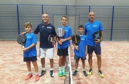 Assier Estébanez y Mario Brocal, Campeones de España de Pádel Benjamín Masculino