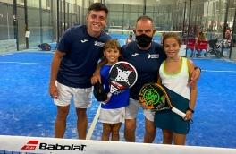 Laia Dorico y Mar García, entre las 8 mejores parejas en el Campeonato de España de Pádel Benjamín Femenino