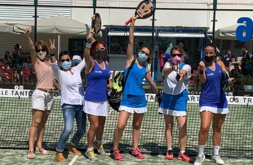 El equipo Padelcat Femenino B gana 2-1 al BCN El Prat Femení B