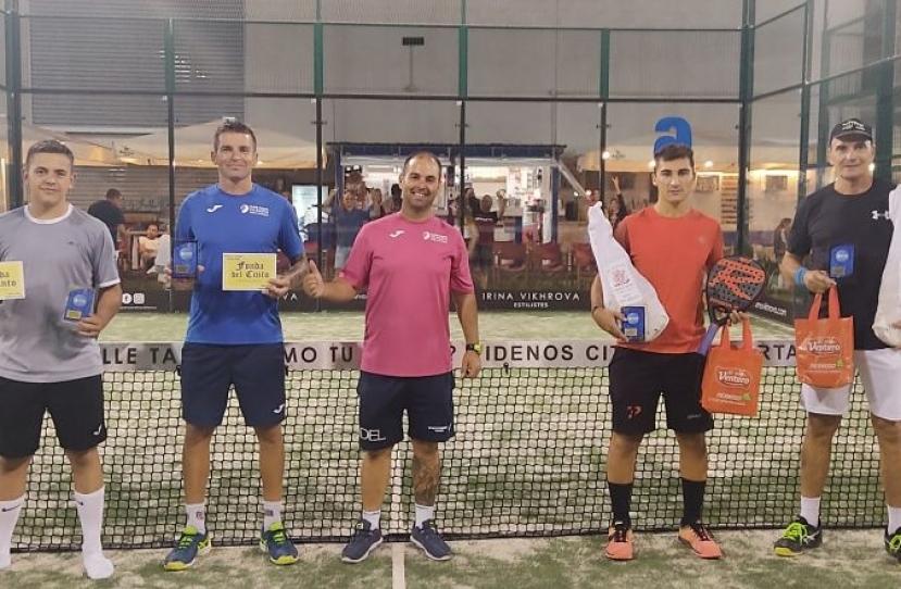 Francesc Calafell y Max Cucurull, Campeones Torneo Masculino Plata Premium