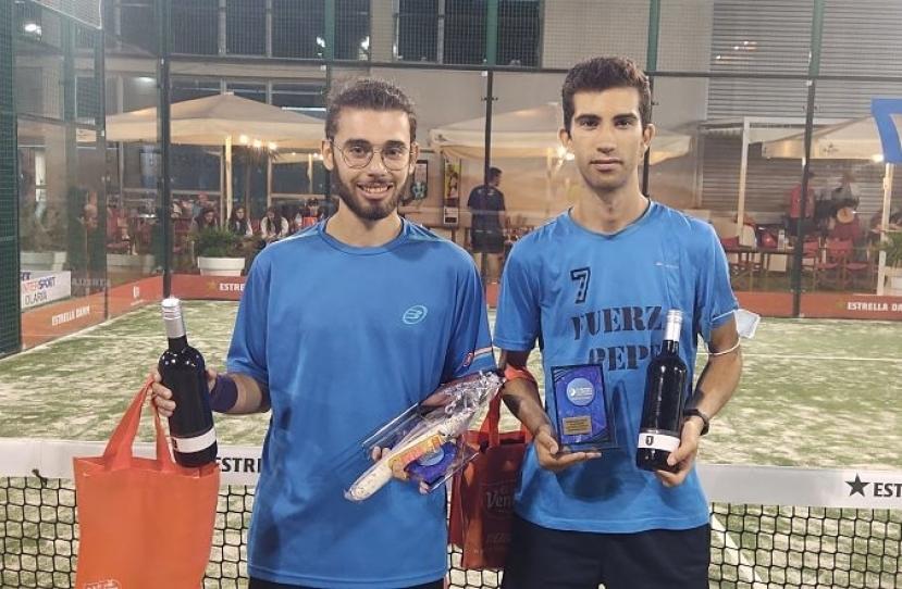 Ismael Alarcón y Oriol Egea, Campeones Consolación Torneo Masculino 4ª Categoría