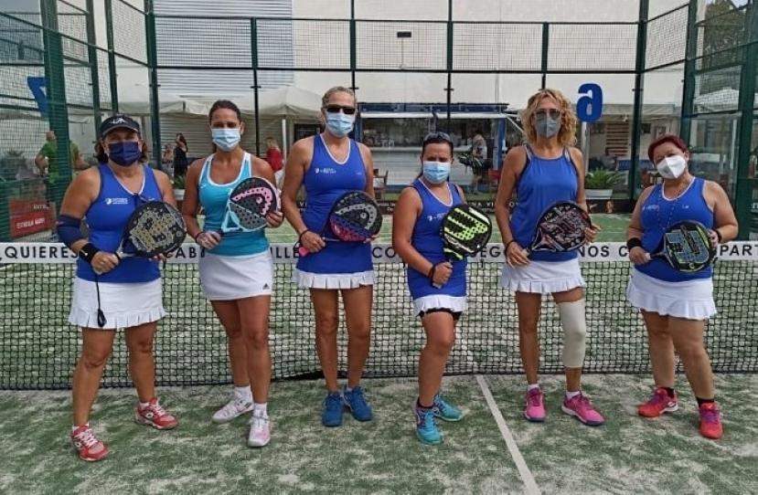 El equipo Padelcat Femenino C pierde 1-2 contra el Padel Infinit D