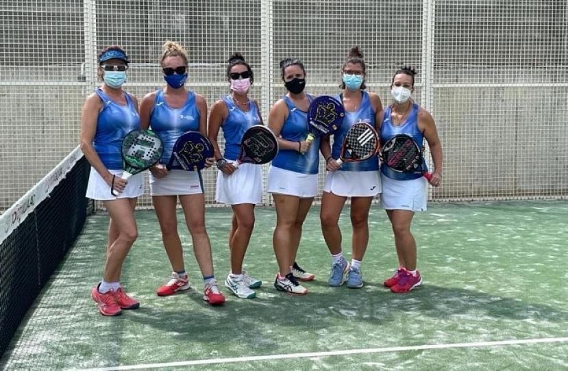 El equipo Padelcat Femenino A gana 3-0 al Esquaix Igualada