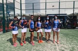 <p>El equipo Padelcat Femenino A gana 3-0 al CT Navas</p>
