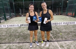 <p>Cristina Blanco y Maite Rivera, Campeonas Torneo Femenino 3ª Categoría</p>