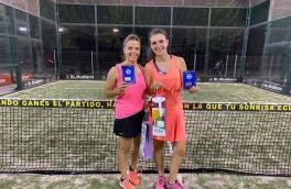 <p>Sandra Bosch y Mireia Navarro, Campeonas Consolación Torneo Femenino 3ª Categoría</p>