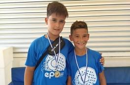 <p>Francesc Fernández y Juanfran Casado, Campeones Consolación 9º Torneo Circuito Telepizza Nivel 3</p>