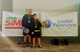 Gerard Sánchez y Anselmo Sánchez, campeones de nivel 2 en el Torneo de Adultos y Menores