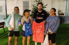 <p>Vicent Hurtado y Ana De La torre, Campeones Torneo Mixto 3ª Categoría</p>