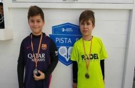 David González y Alexy Cabañes, subcampeones de consolación del Torneo de Menores de Nivel 2