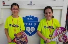 Carla Buisán y Aina Mas, campeonas de consolación del Torneo de Menores de Nivel 2