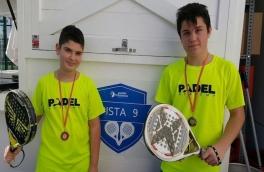 Álex García y Gerard Sánchez, campeones del Torneo de Menores Nivel 2