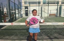 Laura Sánchez Márquez, Subcampeona Benjamín III Super Gran Slam de Menores Andrés Gimeno.