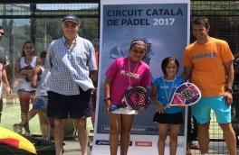Belén Carretero y Mireia Torres, Campeonas Consolación Benjamín III Super Gran Slam de Menores Andrés Gimeno.