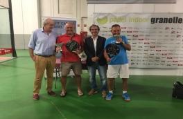 Juan Díaz y Joan Antón Martínez, Campeones de Catalunya Senior +50