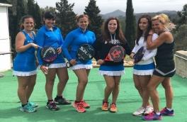 Victoria del Club Padel Vilanova Femenino Padelcat B por 1-2 frente al FairPlay l'Espiral
