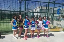El Club Padel Vilanova Padelcat Femenino C perdió contra el Indoor Gavá por 1-2