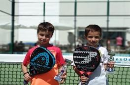 Enzo Ceballos y Pol Sánchez, Campeones del Torneo Kids Padel Tour Nivel 2
