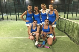 Victoria del Club Padel Vilanova Femenino A por 0-3 frente al Club Tenis Sabadell