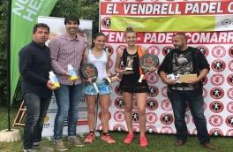 Claudia Sánchez y Gisela Asensio, Campeonas del Torneo Bronce Vendrell Padel