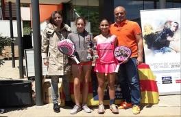 Anna Ortiz Gasco  y Alexandra Torralba Ladunca, Campeonas Infantiles del Torneo de Menores Star's Padel