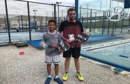 Gerard Sánchez Alonso y Albert Rodero, Campeones 2ª categoría Torneo Open PCP Siux Imox Padel Tour