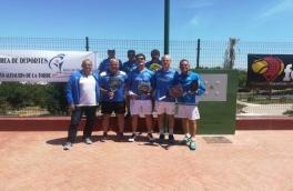 El Equipo Senior Club Padel Vilanova consiguió la medalla de bronce en los Campeonatos de España Senior 1ª categoría.