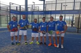 El Club Padel Vilanova Masculino Padelcat se clasifica a las semifinales del Masters Padelcat 4ª categoría tras vencer por 1-2 al Modica PCP