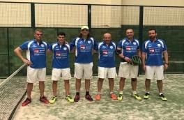 Derrota del Club Padel Vilanova Masculino B por 2-1 frente al Vall Parc C