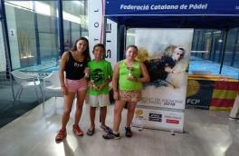 Nuestros alumnos siguen consiguiendo éxitos en el III Super Gran Slam de Menores-Padel Indoor Lleida de la Federación Catalana de Pádel.