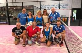 El Club Padel Vilanova Mixto se proclama campeón de la Liga Padelcat Mixta 2ª categoría