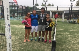 Anna Ortiz y Alexandra Torralba, Campeonas Infantil Femenino del V Super Gran Slam FCP