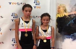 Mireia Torres y Martina Foraste, Campeonas Consolación Alevín Femenino del VI Super Gran Slam FCP