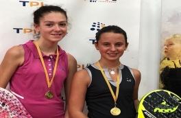 Nerea Torres y Anna Garcia, Campeonas Consolación Infantil Femenino del VI Super Gran Slam FCP