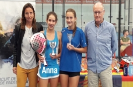 Anna Ortiz y Julia Escardó, Campeonas Gran Slam Menores TPI