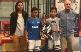 Gerry Sánchez y David Batalla, Subcampeones Gran Slam Menores TPI