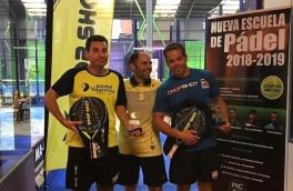 Ismael Guerrero y Marcos Rodríguez, Campeones 2ª Categoría Torneo 1er Aniversario PIC