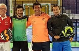 Emili Jorda y Sergio Garcia, Campeones 3ª Categoría Torneo 1er Aniversario PIC ante Xavier Pujol y Enrique Wasserzug