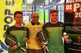 Albert Sanchez y Pol Llobet, Campeones 4ª Categoría Torneo 1er Aniversario PIC